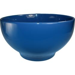 ITI - CA-45-LB - 140 Oz Light Blue Footed Cancun™ Bowl With Rolled Edge image