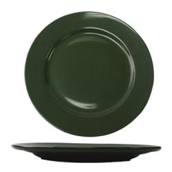 ITI - CA-6-G - 6 5/8 in Cancun™ Green Rolled Edge Plate image
