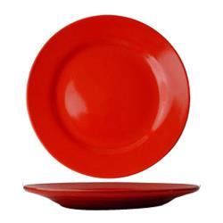 ITI - CA-7-CR - 7 1/8 in Cancun™ Crimson Red Rolled Edge Plate image