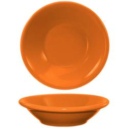 ITI - CAN-11-O - 4 3/4 Oz Orange Cancun™ Fruit Bowl With Narrow Rim image