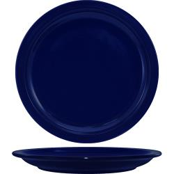 ITI - CAN-16-CB - 10 1/2 in Cancun™ Cobalt Blue Narrow Rim Plate image
