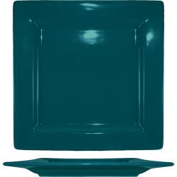 ITI - EL-10-BB - 10 3/4 in Elite Harvest Blue Square Plate image