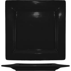 ITI - EL-10-BL - 10 3/4 in Elite Harvest Black Square Plate image