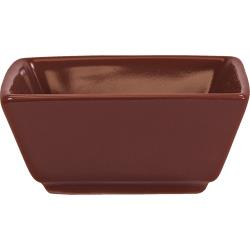 ITI - EL-4-RH - 3 1/2 oz Elite Harvest Red Square Ramekin image