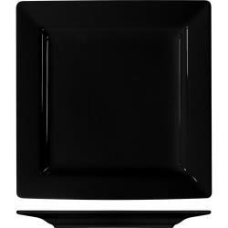 ITI - EL-6-BL - 6 1/4 in Elite Harvest Black Square Plate image