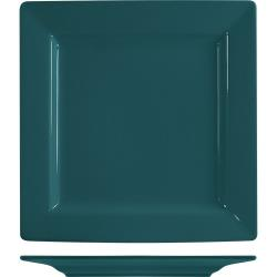 ITI - EL-7-BB - 7 1/4 in Elite Harvest Blue Square Plate image