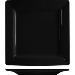 ITI - EL-9-BL - 9 1/8 in Elite Harvest™ Black Square Plate image