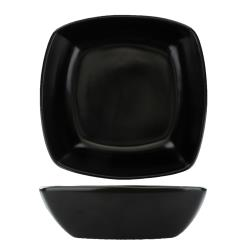 International Tableware - QP-31-MB - 6 oz Quad™ BLK Fruit Dish image