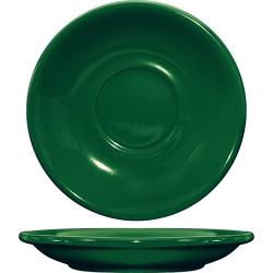 ITI - CA-2-G - 6 in Cancun™ Green Saucer With Rolled edging image