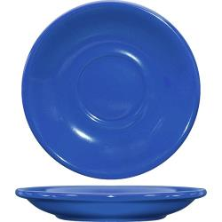 ITI - CA-2-LB - 6 in Cancun™ Light Blue Saucer With Rolled edging image