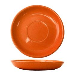 ITI - CA-2-O - 6 in Cancun™ Orange Saucer With Rolled edging image