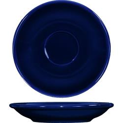 ITI - CA-36-CB - 5 1/5 in Cancun™ Cobalt A.D. Saucer With Rolled edging image