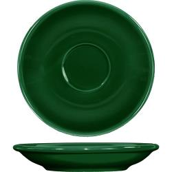 ITI - CA-36-G - 5 1/5 in Cancun™ Green A.D. Saucer With Rolled edging image