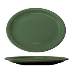 ITI - CAN-12-G - 9 3/4 in x 7 in Cancun™ Green Platter With Narrow Rim image