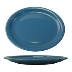ITI - CAN-12-LB - 9 3/4 in x 7 in Cancun™ Light Blue Platter With Narrow Rim image