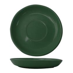 ITI - CAN-2-G - 5 1/2 in Cancun™ Green Saucer With Narrow Rim image