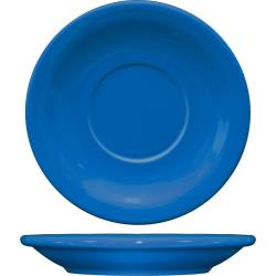 ITI - CAN-2-LB - 5 1/2 in Cancun™ Light Blue Saucer With Narrow Rim image