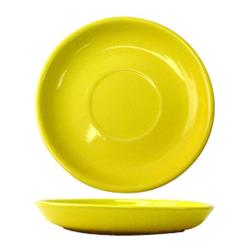 ITI - CAN-2-Y - 5 1/2 in Cancun™ Yellow Saucer With Narrow Rim image