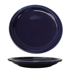 "ITI - CAN-9-CB - Cancun™ 9 1/2"" Cobalt Plate w/Narrow Rim image"