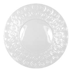 "Vertex - AV-SD21 - 12 1/2"" Ventana Scroll Dish  image"