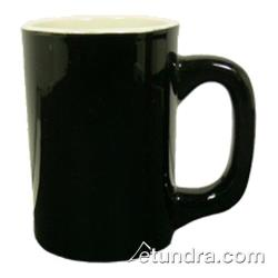 Vertex - LH-BKW - 11 oz. Vista Log Home Mug Black/White image