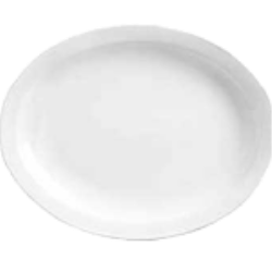 World Tableware - 840-520R-9 - Porcelana 9 3/4 in x 7 1/2 in Platter image