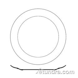 "World Tableware - BW-1100 - Basics 12 1/2"" Porcelain Plate image"