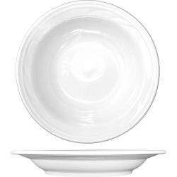 ITI - AM-3 - 15 Oz Amsterdam™ Embossed Deep Rim Porcelain Soup Bowl image