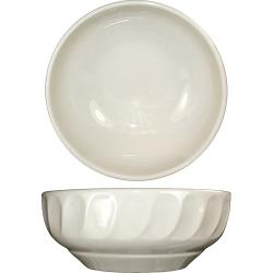 ITI - HA-24 - 14 Oz Hampton™ Bowl With Embossed Fluted Edge image