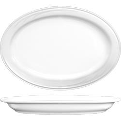 ITI - AM-14 - 13 in x 9 1/8 in Amsterdam™ Embossed Porcelain Platter image