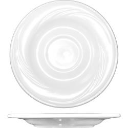 ITI - AM-2 - 5 7/8 in Amsterdam™ Embossed Porcelain Saucer image