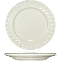 ITI - HA-9 - 9 3/8 in Hampton™ Plate With Embossed Fluted Edge image