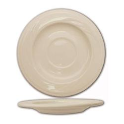 ITI - Y-2 - 5 3/4 in York™ Embossed Saucer With Glazed Foot image