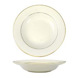 International Tableware - FL-3GF - 12 Oz Deep Rim Florentine™ Soup Bowl With Gold Band image