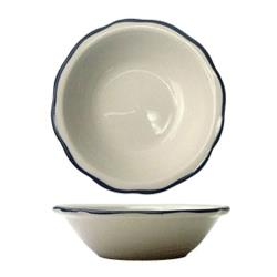 ITI - SY-11 - 4 3/4 Oz Sydney™ Fruit Bowl With Scalloped Edge and Black Band image