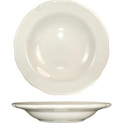 ITI - VI-3 - 10 1/2 Oz Victoria™ Deep Rim Soup Bowl With Scalloped Edge image