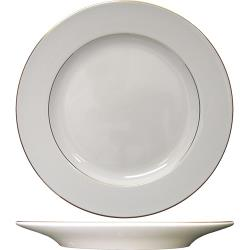 ITI - FL-16GF - 10 in Florentine™ Plate With Gold Band image