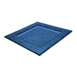 ITI - IGPB-4 - 4 in ArcticGlacier™ Square Blue Glass Dish image