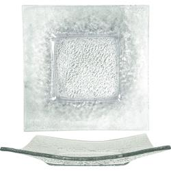 ITI - IGPC-10 - 10 in Arctic Glacier™ Square Clear Glass Plate image