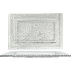 ITI - IGPC-12 - 12 in x 8 Arctic Glacier™ Rectangular Clear Glass Plate image