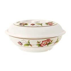 GET Enterprises - KT-070-TR - Tea Rose 94 oz Bowl w/ Lid image