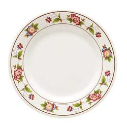 GET Enterprises - M-5080-TR - Tea Rose 9 1/2 in Wide Rim Plate image