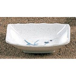 "Thunder Group - 0001BB - 3 1/2"" x 2 3/8"" Blue Bamboo Sauce Dish  image"