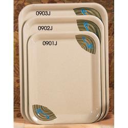 "Thunder Group - 0901J - 13 1/8"" x 10 1/4"" Wei Sandwich Tray image"
