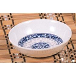 "Thunder Group - 1102DL - 2 3/4"" x 3 3/8"" Blue Dragon Twin Sauce Dish image"