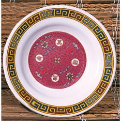 "Thunder Group - 1106TR - 6"" Longevity Soup Plate image"