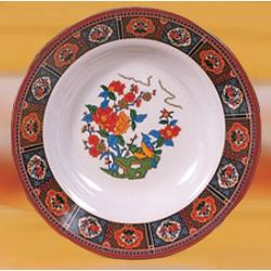 "Thunder Group - 1110TP - 10 3/8"" Peacock Soup Plate image"