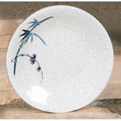 "Thunder Group - 1307BB - 7 3/8"" Blue Bamboo Round Dinner Plate image"