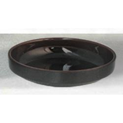 "Thunder Group - 1904TM - 4 1/2"" Tenmoku Flat Bowl image"