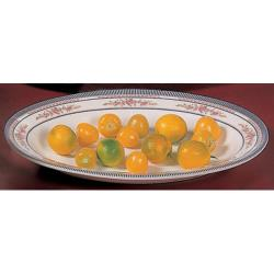 "Thunder Group - 2109AR - 9"" x 6 3/4"" Rose Deep Oval Platter  image"